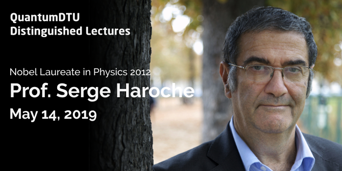 Distinguished Lecture - Prof. Serge Haroche